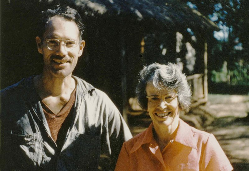 Tom and Florrie Potts a middle-aged couple visit the Paraguayan community in the 1950s