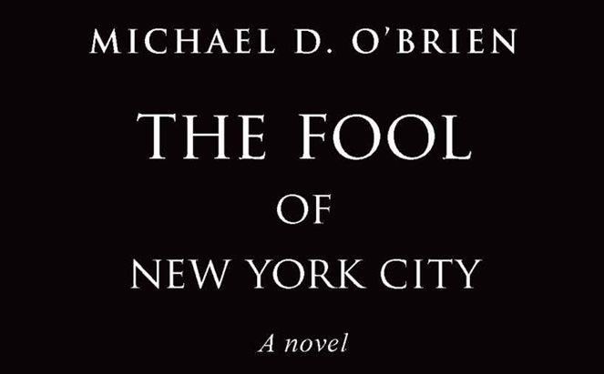 a detail from the book cover of The Fool of New York City