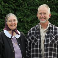 Paul Winter and his wife Betty